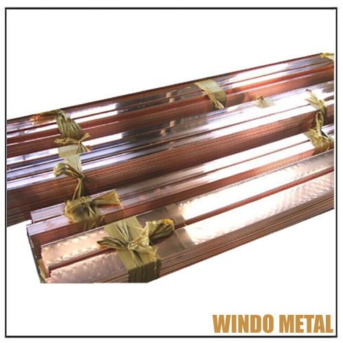 Flat Copper Solid Bar ASTM C37000 Grade