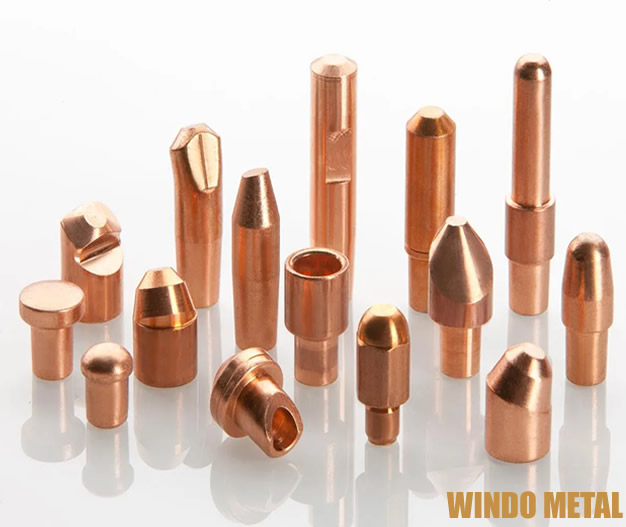 Resistance Welding Materials Copper Tube