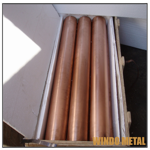 Big Scrap Round Copper Bars