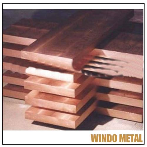 C16200 Cadmium Copper Rectangular Flat Block
