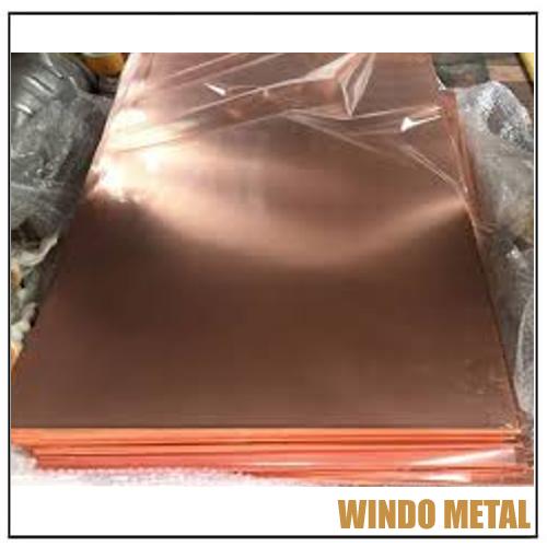 C18200 CuCr1 Copper Blade Plate