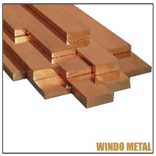 Chromium Cu Copper Flat Bar Plates