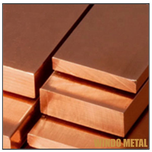 High Tensile Strength ASTM B105 Rectangular Copper Block