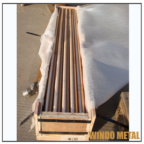 Round Copper Scrap Rods