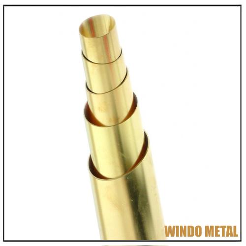 ASTM B135 Seamless Brass Tube OD3mm-165mm