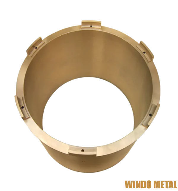 Building Construction Materials Copper Pipe Sleeve Injection Molding Bushing