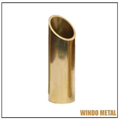 C26000 Seamless Brass Alloy Tube Oval Type