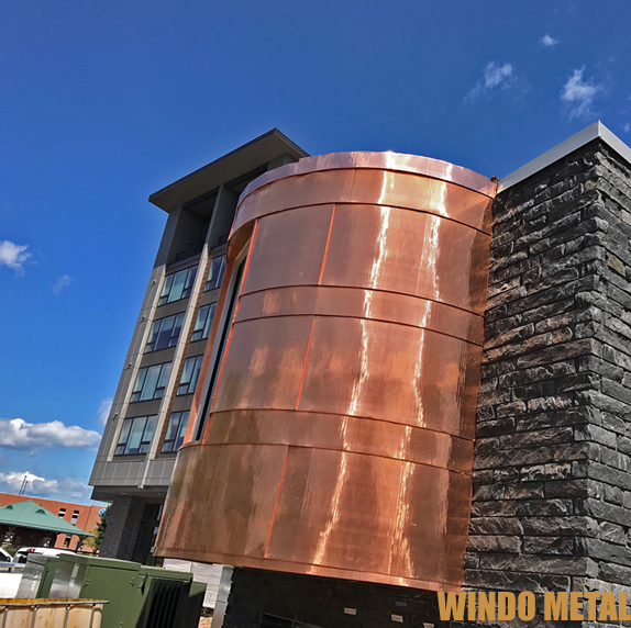 Copper Work Buildings