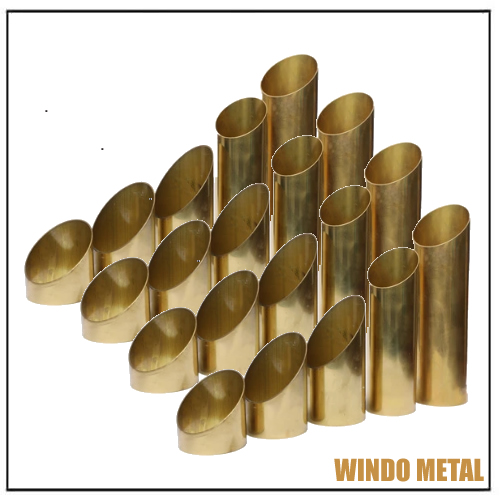High-Strength C330 Brass Oval Round Alloy Pipes