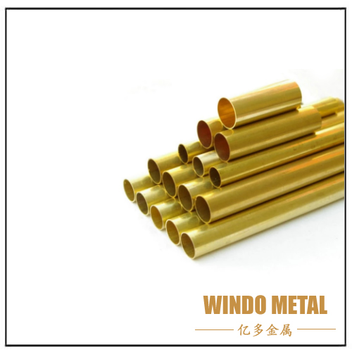 ASTM Customized Seamless Round Square Admiralty Brass Tube