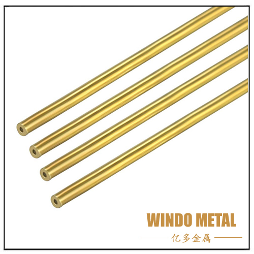 Customized Seamless Round Brass Tube