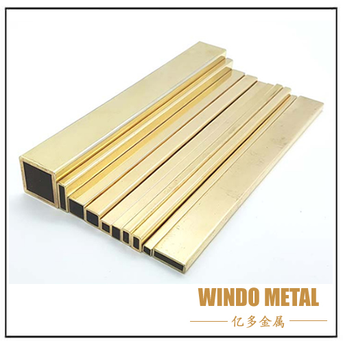 Rectangular Brass Square Pipe Tube