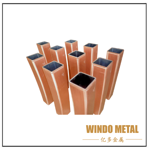 Round Square Rectangular Copper Mould Tube