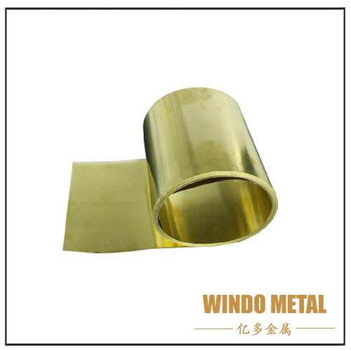 Brass Sheet Strip