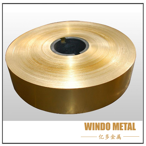 Edge Burr of Brass Strip and Solving