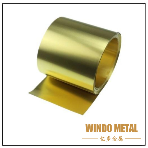 Production Process of Brass Strip