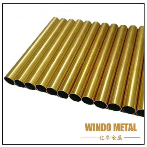 Straight Brass Pipe for Water Tube