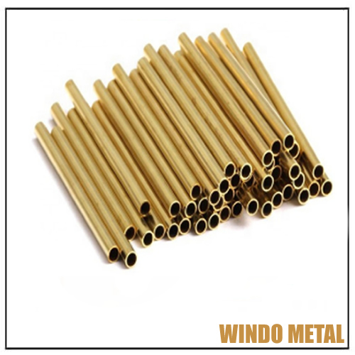 Straight Brass Pipes for Water Tube