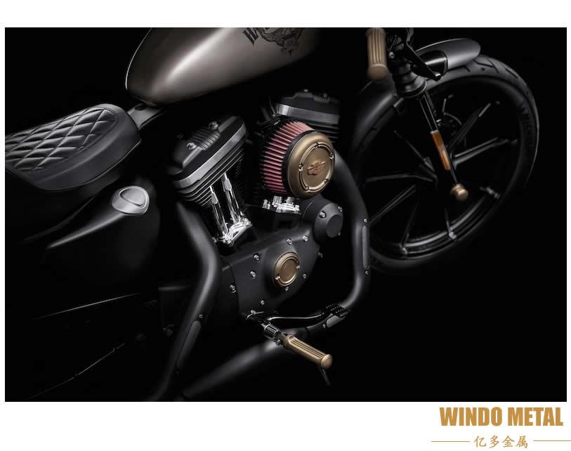 Harley-Davidson adds Brass Collection