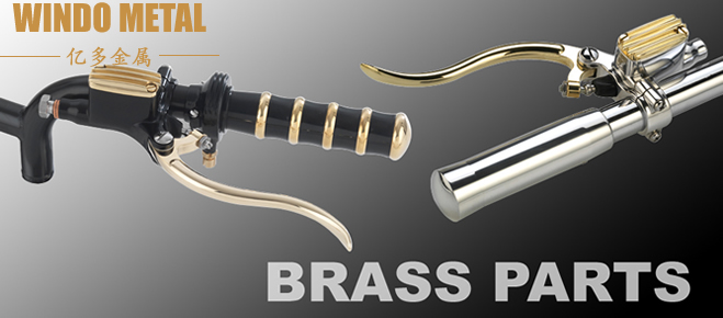 brass motorcycle parts