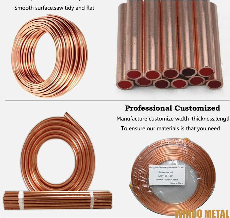 5N Copper Tube Products